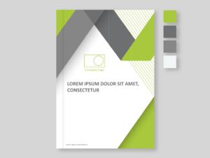 Green Business Cover Template, BidsandBeyond