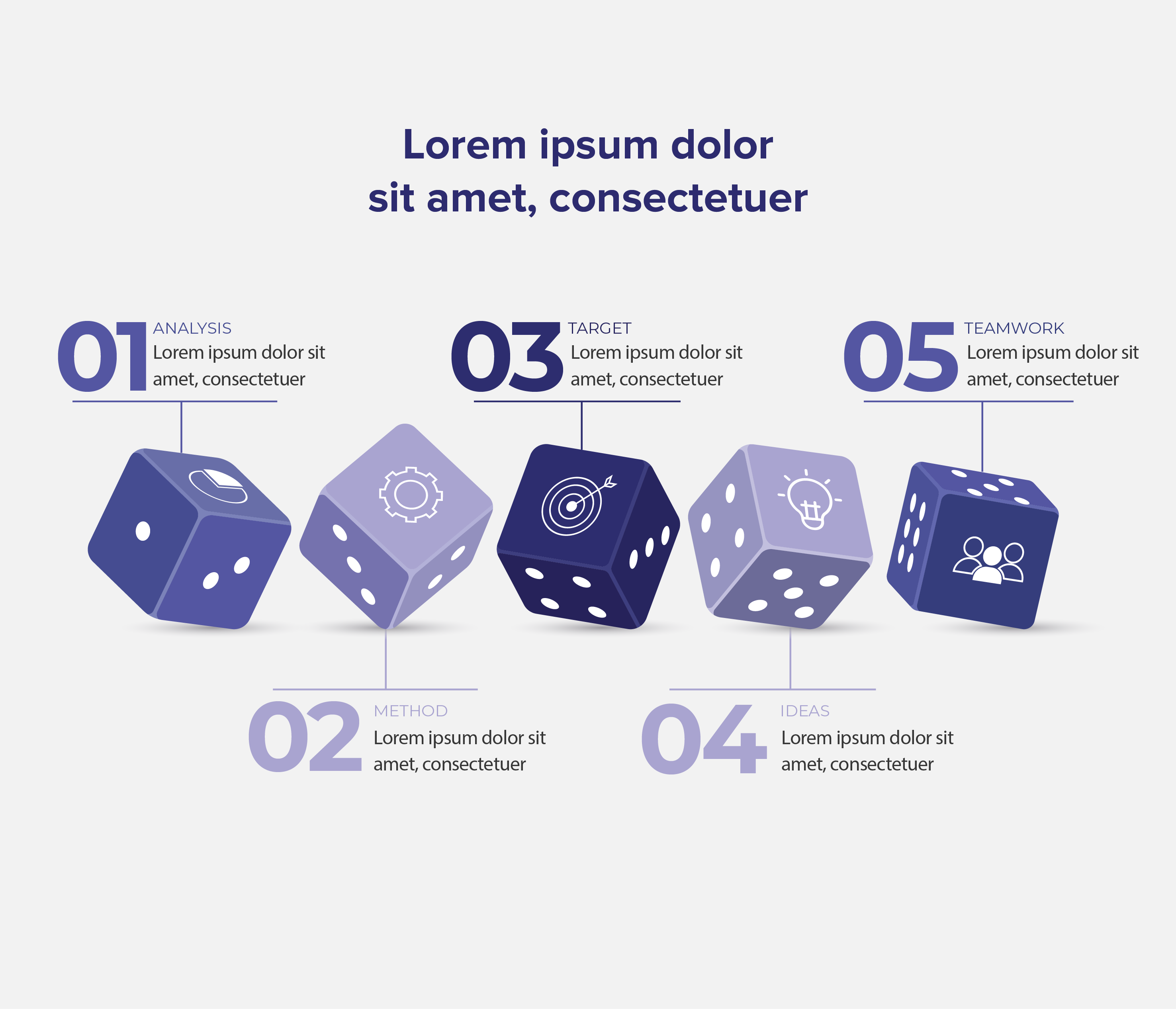 Dice Graphic, Bids and Beyond