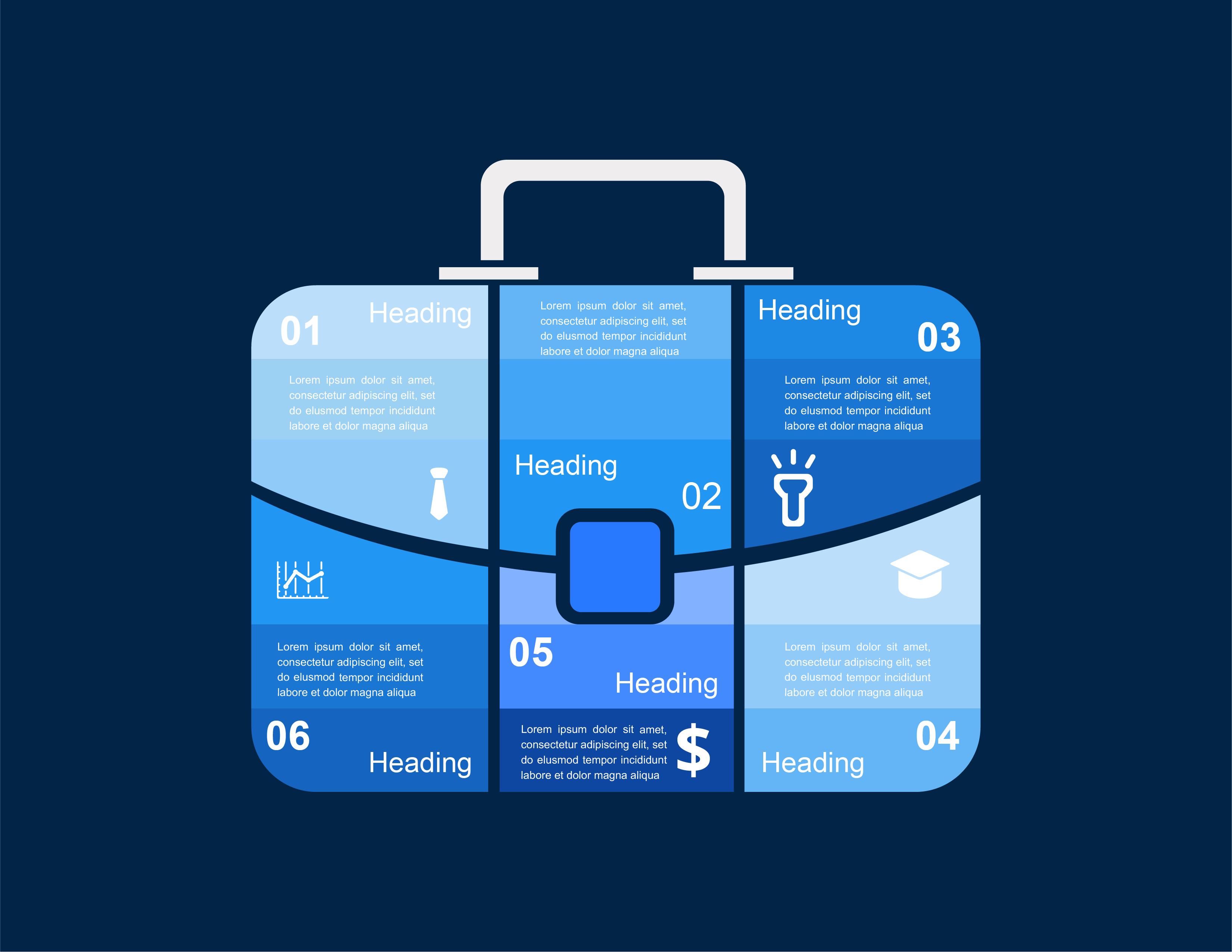 Briefcase Graphic, BidsandBeyond