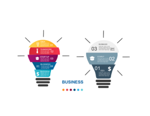 Business Idea Graphic, Bids and Beyond
