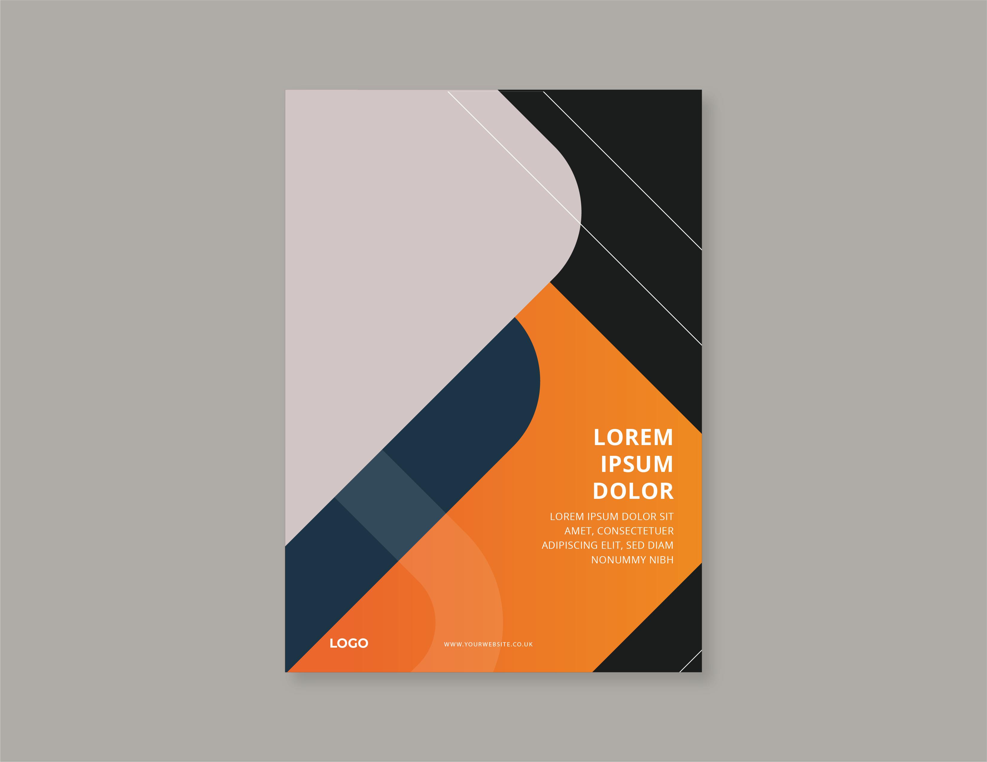 Orange Black Cover Page
