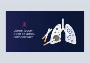 Lungs Cancer Graphic, BidsandBeyond