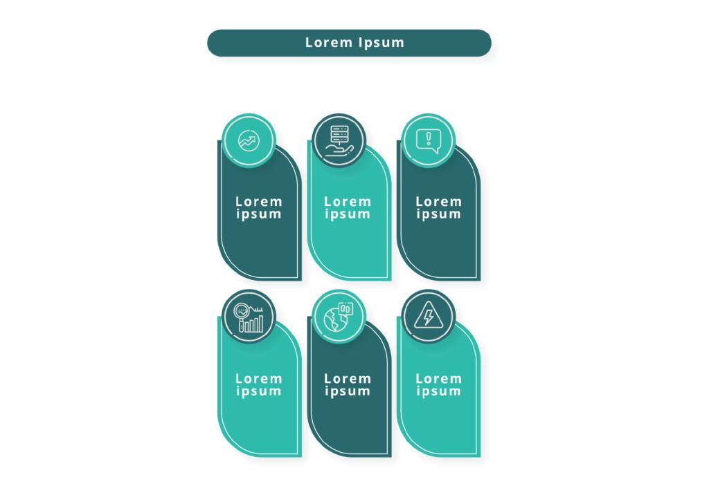 Info-graphic Elements with Icons, Bids and Beyond